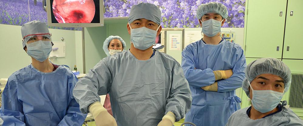 メディカルトピア草加病院金平永二院長が執刀した内視鏡手術